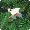1988 Folk Art Lamb - MINIATURE