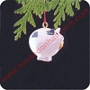 1989 Roly Poly Pig - MINIATUREHallmark Christmas Ornament