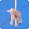 1991 Gentle LambHallmark Christmas Ornament