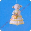 1993 Lovely LambHallmark Christmas Ornament
