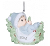 2013 Baby's First Christmas - Boy, Precious Moments Hallmark Christmas Ornament