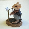 Mouse With Violin - Tender Touches FigurineHallmark Christmas Ornament