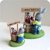 Juice Stand - Mini Memories Figurine - RareHallmark Christmas Ornament