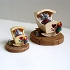 Mouse in Cradle - Mini Memories Figurine - Rare