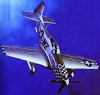 "P51 Mustang: ""Big Beautiful Doll""Hallmark Christmas Ornament"