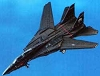 VX-9 F-14 Blackcat Jet - Legends in FlightHallmark Christmas Ornament