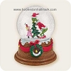 2006 Santy Claus and Cindy Lou Who Snow Globe, Dr. Seuss - HARD TO FIND!Hallmark Christmas Ornament