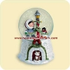 2006 Frosty Friends Snow Globe Hallmark Christmas Ornament