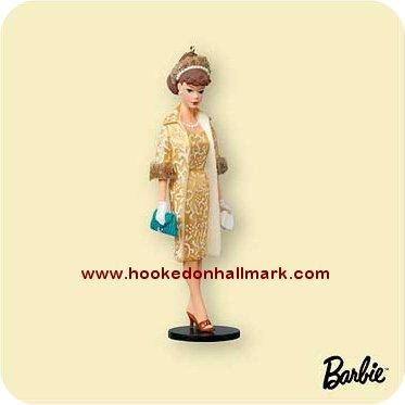 2006 barbie evening splendor brunette repaint at hooked on hallmark ornaments - Barbie grandeur nature ...