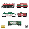 2007 Lionel North Pole Central Train - Miniature Hallmark Christmas Ornament
