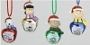 2014 Peanuts Jingle Buddies - Set/4 -  by Roman, IncHallmark Christmas Ornament