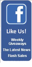 Like Us On Facebook, Enjoy Giveaways & Contests