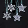 White LED Light Set - Choose STAR or SNOWFLAKE