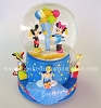 2001 Disney Musical Birthday Water Globe - SDBHallmark Christmas Ornament