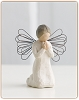 Willow Tree ANGEL OF PRAYER - Figurine SculptureHallmark Christmas Ornament