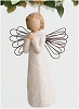 Willow Tree ANGEL OF WISHES - Ornament Hallmark Christmas Ornament