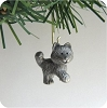 2000 Pewter Husky, Club - MiniatureHallmark Christmas Ornament