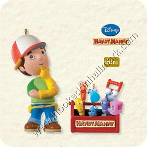 2008 Helpful Handy Manny - Miniature Set/2