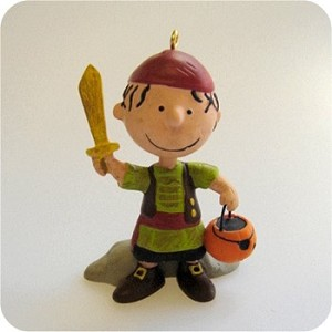 2009 Halloween Peanuts - Pigpen the Pirate - HARD TO FIND