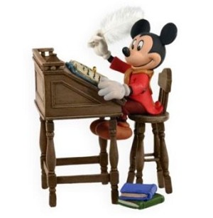 2009 Mickey's Christmas Carol #1 - Mickey as Bob Cratchit