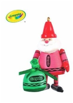 2009 Crayola, Colorful Santa