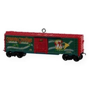 2009 Lionel Holiday Boxcar