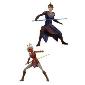 2009 Anakin Skywalker and Ahsoka Tano - MINIATURE