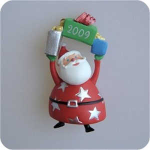 2009 Festive Santa COLORWAY - MINIATURE