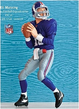 2010 Football Legends #16 - Eli Manning - XLVI SUPER BOWL MVP