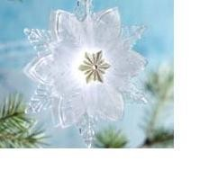 2010 Wonder and Light, Shimmering Snowflake