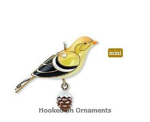 2010 Beauty of Birds MINIATURE Goldfinch