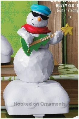 2010 Snowman Band - Guitar Freddy - Hard to find !!
