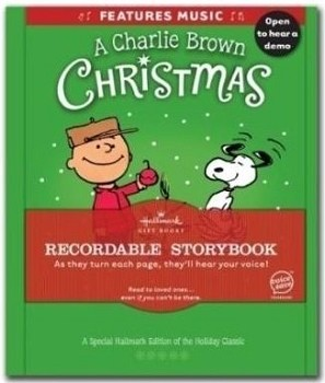 Charlie Brown Christmas Recordable Storybook