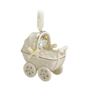 2011 Baby's First Christmas, Porcelain Buggy