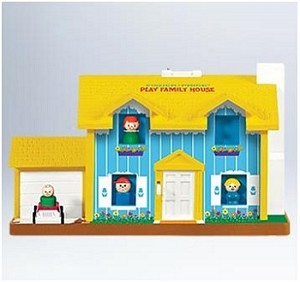 2011 Fisher-Price Play Family House