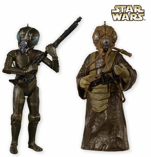 2012 SDCC Star Wars: 4-Lom and Zuckuss - only 1800 produced