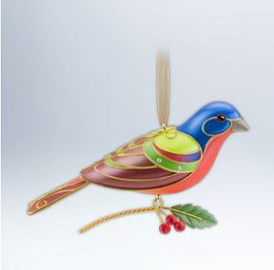 2012 Beauty of Birds #8 Painted Bunting