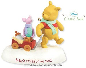 2012 Baby's First Christmas, Winnie the Pooh