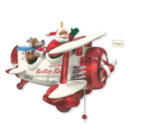 2012 Santa's Rooftop Racer - Hard to find - SEE Video