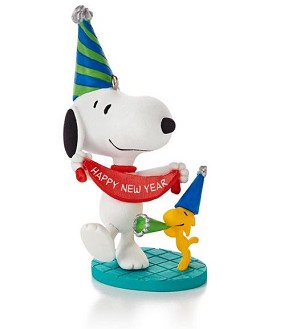 2014 Peanuts Monthly #6 New Year's Celebration