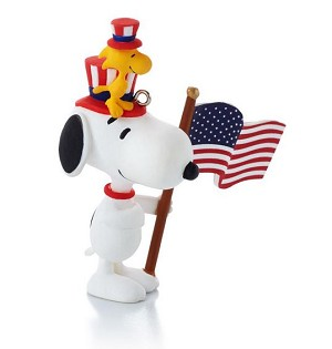 2014 Peanuts Monthly #12 Patriotic Pals