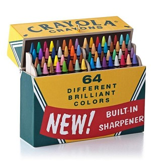 2013 Crayola, Big Box of 64