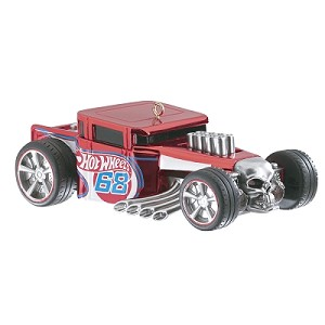 2014 Hot Wheels Bone Shaker - Carlton MAGIC Ornament