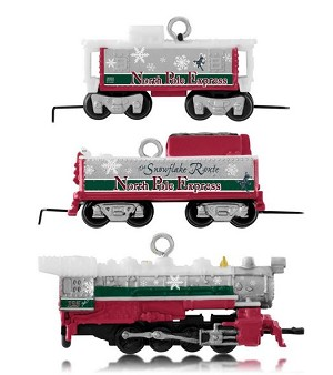 2014 Lionel North Pole Express, MINIATURES