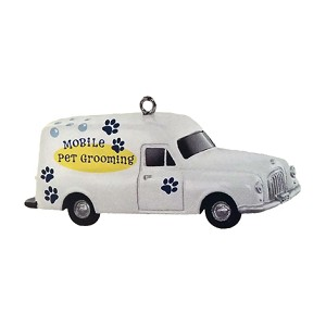 2015 Nostalgic House Mobile Pet Grooming MINIATURE - LTD Quanity