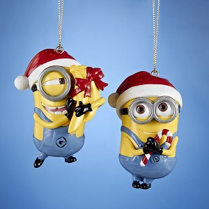 2016 Despicable Me Minions - Santa Hats
