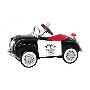 2015 Kiddie Car 1949 Gillham Police Car - Ornament