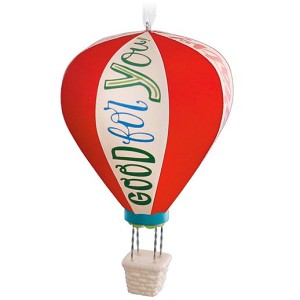 2016 Hot Air Balloon Celebratory Ornament