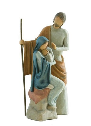 Willow Tree HOLY FAMILY - Nativity Sculpture