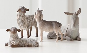 Willow Tree SHELTERING ANIMALS - Navitiy Sculptures